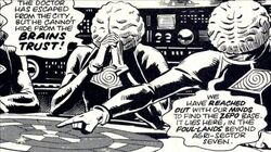 Dr Who City of the Damned Brain Trust
