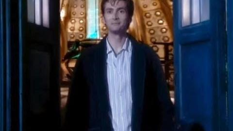 Did you miss me? - Doctor Who - The Christmas Invasion - BBC