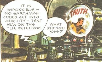 Dalek lie detector
