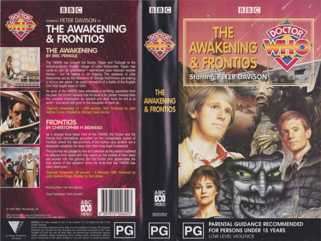 File:The Awakening Frontios VHS Australian folded out cover.jpg
