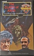 The Claws of Axos VHS Australian cover