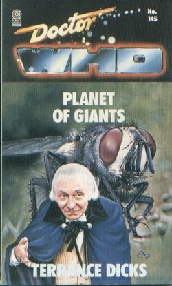 Planet of Giants novel