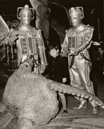 Exhibition 1968 Cybermen and Mire Beast