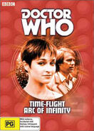 Time-Flight and Arc of Infinity DVD boxset Australian cover