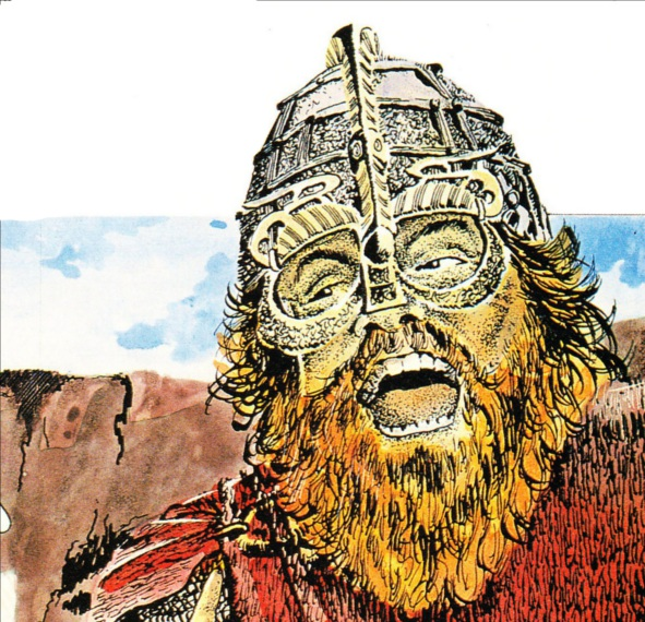Erik the Red Who discovered america illustration 2 DWM 175
