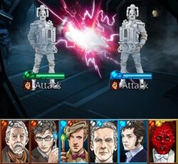 The Doctors fight the Cybermen (Legacy)