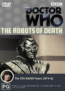 The Robots of Death DVD Australian cover