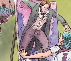 Eighth Doctor issue 1 the art of josie