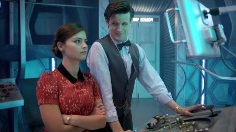 Behind the Scenes of Journey to the Centre of the TARDIS - Doctor Who - Series 7 2013 - BBC One