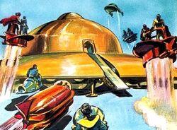 The Dalek World The Mechanical Planet 1