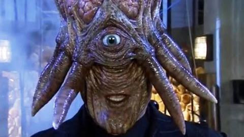 A Human Dalek - Doctor Who - Daleks in Manhattan - Series 3 - BBC
