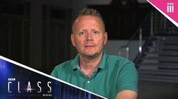 Quickfire questions with Patrick Ness - Class Behind the scenes - BBC Three
