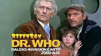 Dr. Who Invasion Earth 2150 - RiffTrax Trailer