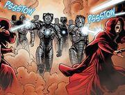 The Cybermen invade Karn