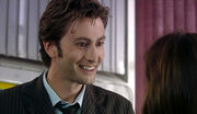 Tenth Doctor reunites with Sarah Jane School Reunion