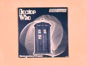 Doctor Who Theme Record 70s promo