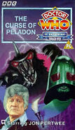 The Curse of Peladon VHS UK cover