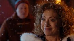 The Doctor reunites with River - The Husbands of River Song - Doctor Who Christmas Special – BBC