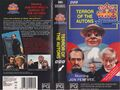 Terror of the Autons VHS Australian folded out cover