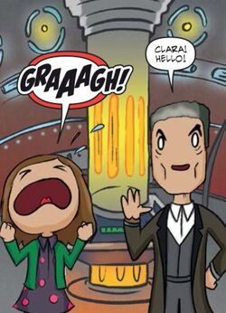 12th Doctor Comics The Inversion of Time