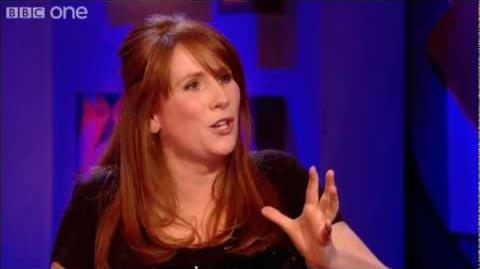 Catherine Tate Talks About Playing Doctor Who - Friday Night with Jonathan Ross - BBC One