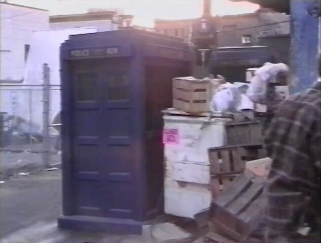 File:2 TARDIS props Bidding Adieu.jpg
