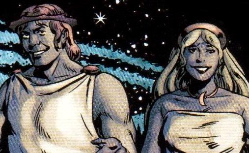 Helius and Selene IDW
