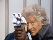Third Doctor Taking Aim