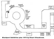 Blackpool exhibition layout 1975