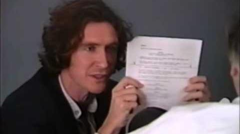 Paul McGann's Doctor Who audition tape teaser - Doctor Who