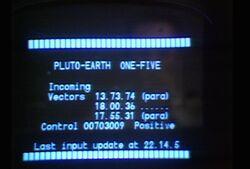 Pluto-Earth One-Five RotC