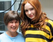 Sophie Aldred meets Karen Gillan