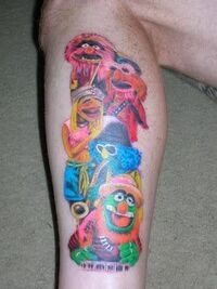 Electric Mayhem Tattoo by sircailli
