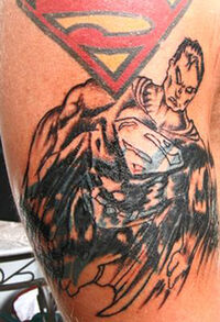 Art-superman-tattoos