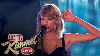 "Taylor Swift Performs ""Out of the Woods""-3"