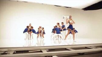 """""""Shake It Off"""" Outtakes Video 1 - The Cheerleaders"""