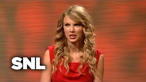 Hollywood Dish Taylor Swift - Saturday Night Live