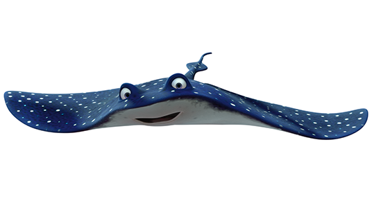 Finding Nemo Characters Mr Ray Mr. Ray | Tayo ...