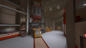 Well inside RED base TF2