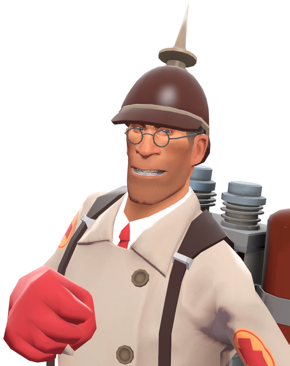 Image Medic With The Prussian Pickelhaube Tf2 Png Team