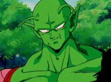 Piccolo back on Earth
