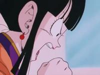 Chi-Chi yelling at Gohan