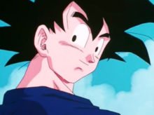 Goku after recovering