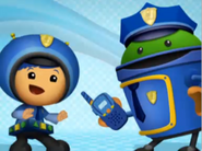 Officers Geo and Bot