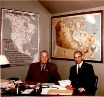 Howard Scott & John Gregory; CHQ, Rushland, PA