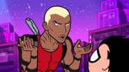Aqualad Burger Burrito