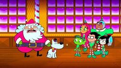 """Teen Titans Go! - Episode 124 - """"The True Meaning of Christmas"""" Clip"""