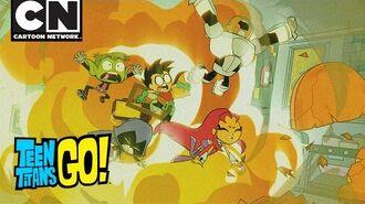 Teen Titans Go! Popcorn War Cartoon Network