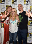 TTG Panel SDCC 2014 Greg Cipes, Tara Strong, Scott Menville