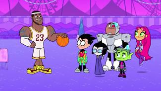 Titans meet LeBron James